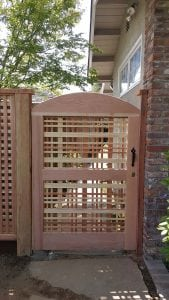 Custom Berco Redwood Gate
