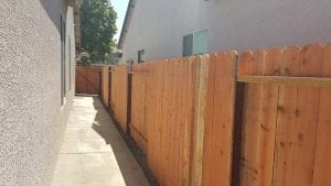 Redwood Dog Ear Fence – 7