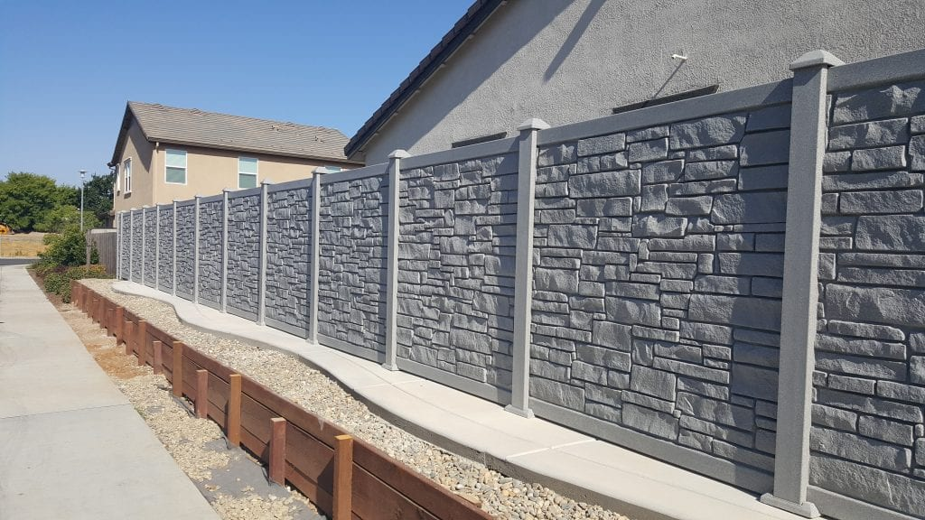 Bufftech Allegheny with Retaining Wall – 18