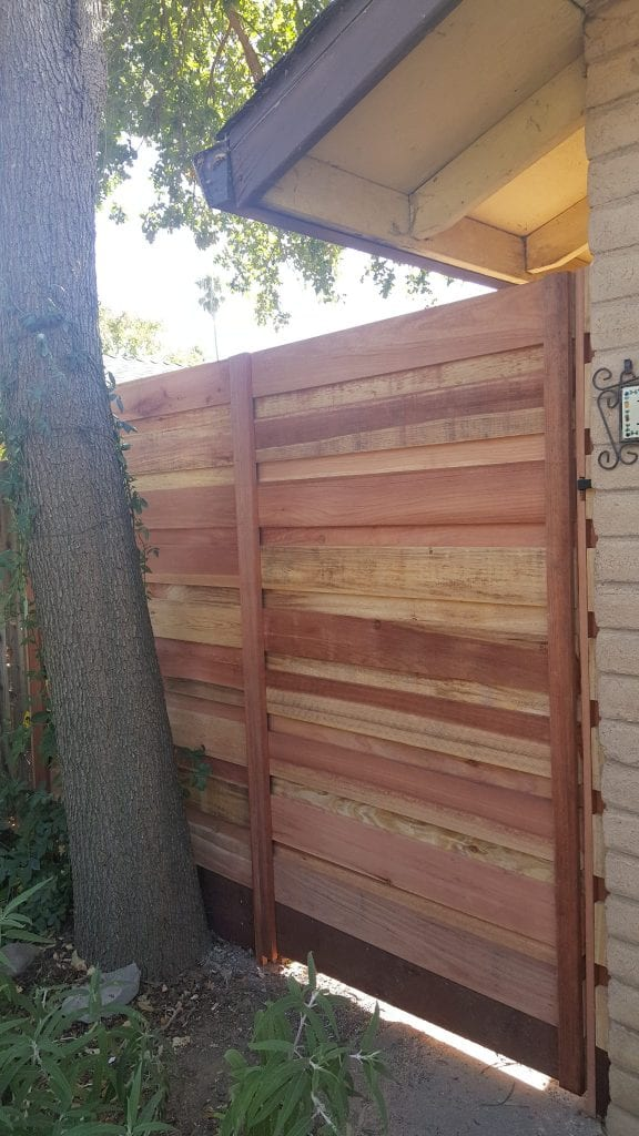 Horizontal Board on Board Hidden Gate – Closed – 5