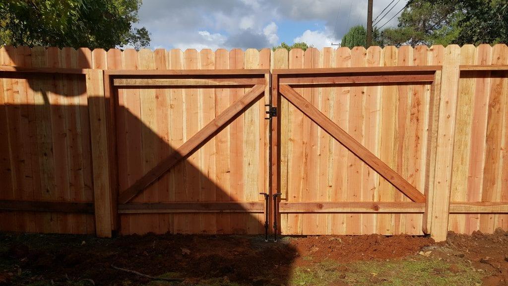 Dog Ear Double Gate Wood Z Frame – 13