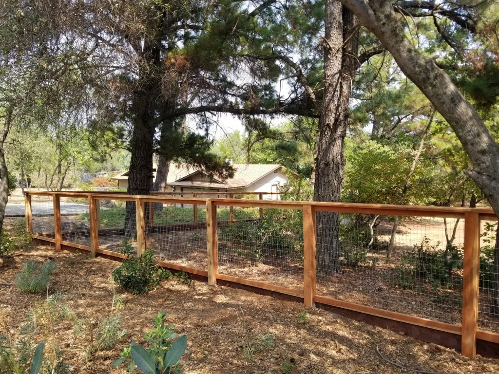 Custom No Climb Wire Fence