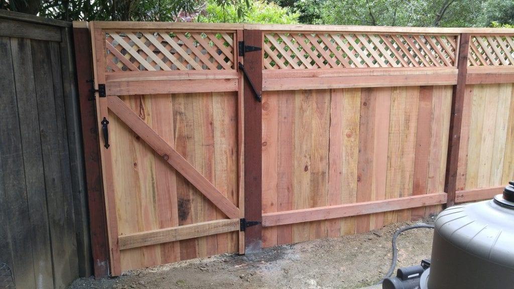 Solid Board with Diagonal Lattice Gate – 5